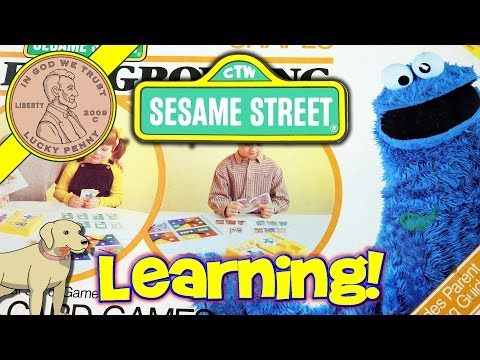 Sesame Street Games For Growing Preschool Kids Matching, Shapes & Colors