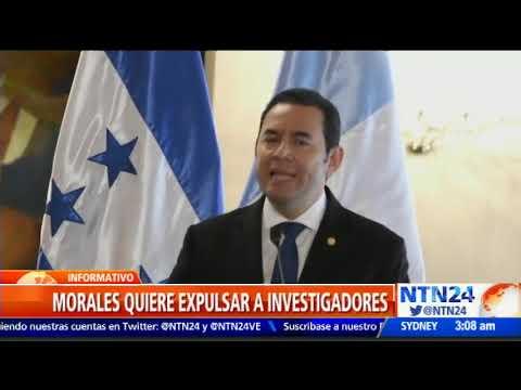 Guatemala: Jimmy Morales ordena expulsar a 11 investigadores de la CICIG