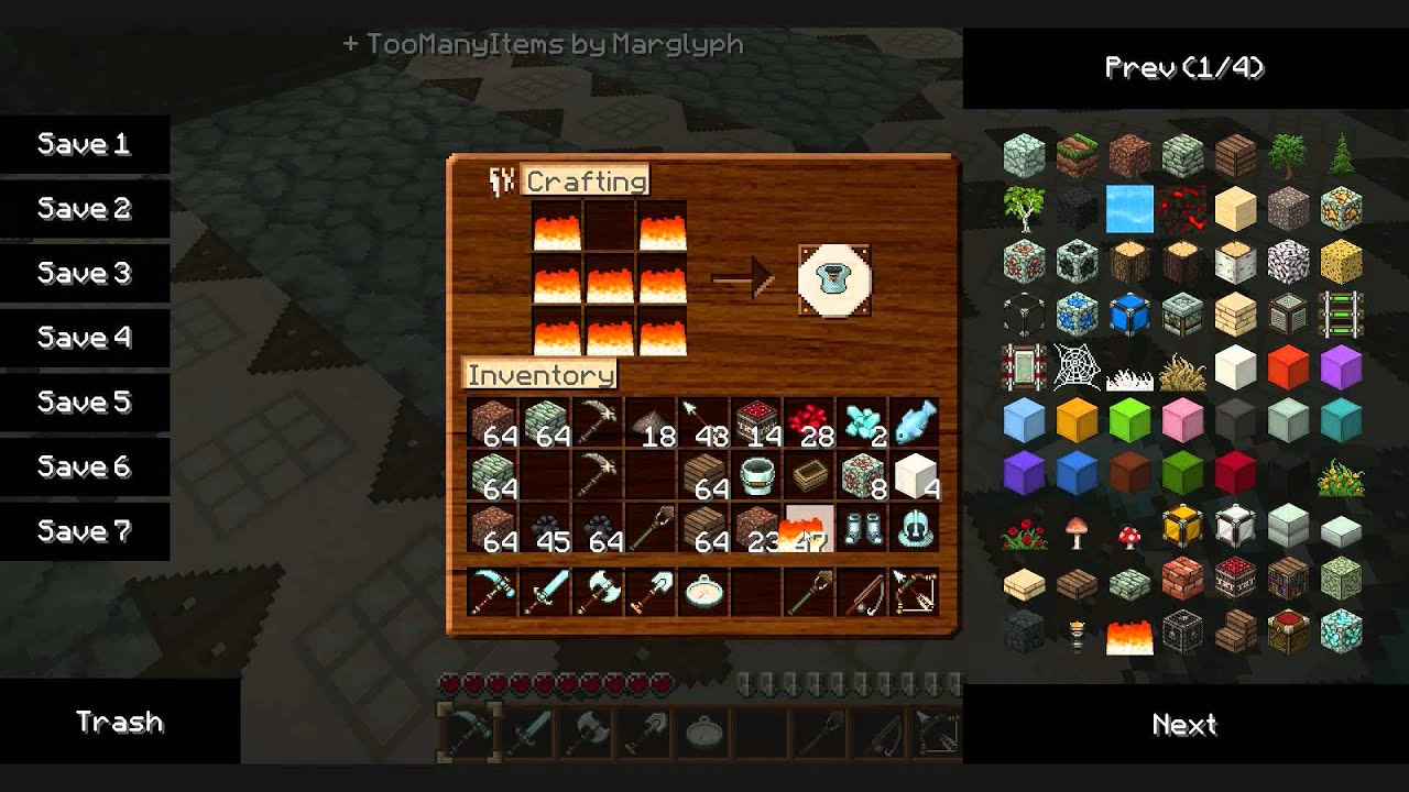 minecraft how to make chain armor