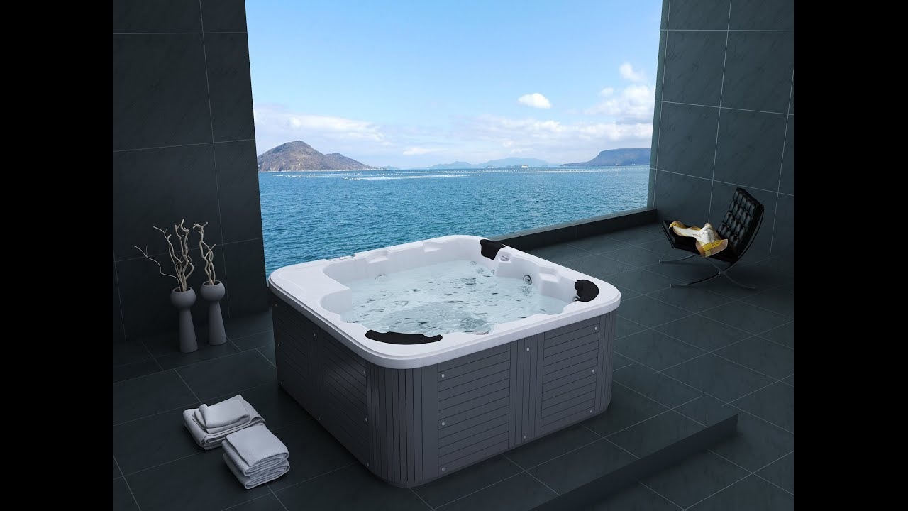 badewanne mit whirlpoolfunktion it49 hitoiro. Black Bedroom Furniture Sets. Home Design Ideas
