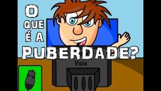 Animação: Vlog sobre a puberdade