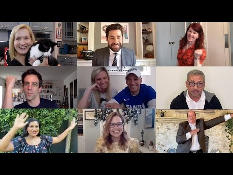 the-office-cast-reunites-for-zoom-wedding:-some-good-news-with-john-krasinski-(ep.-7)