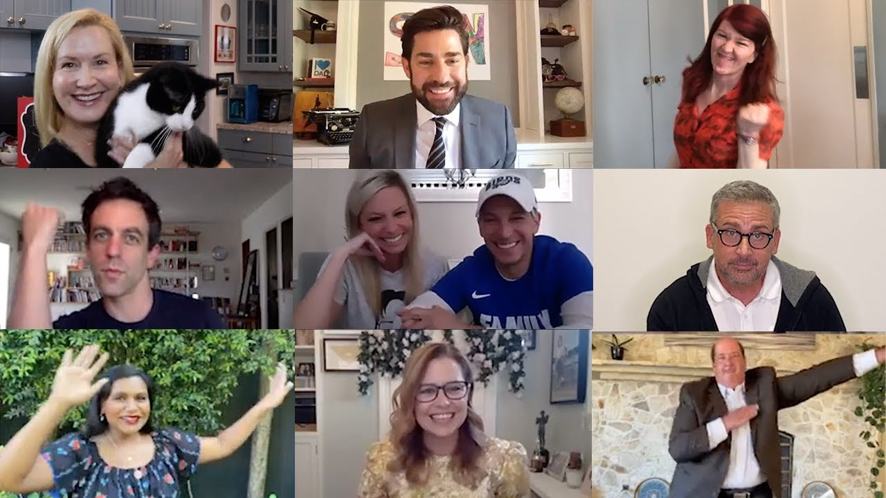 The Office Cast Reunites for Zoom Wedding: Some Good News with John Krasinski (Ep. 7)