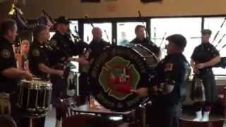 Seattle Firefighters Pipes and Drums - Sitka, Alaska