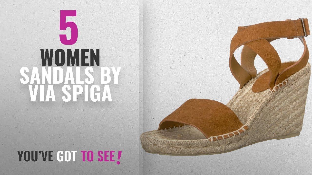 2f4709da21 Top 5 Via Spiga Women Sandals [2018]: Via Spiga Women's Nevada Espadrille  Wedge ...