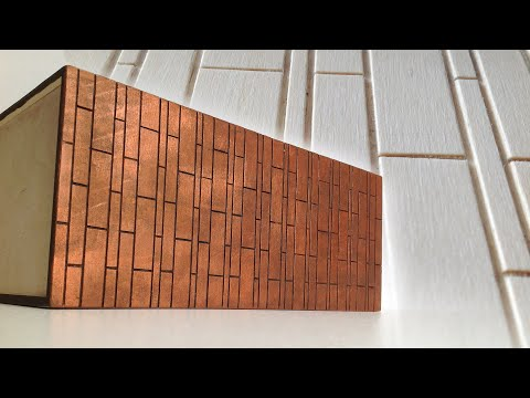 How to decorate a wooden box