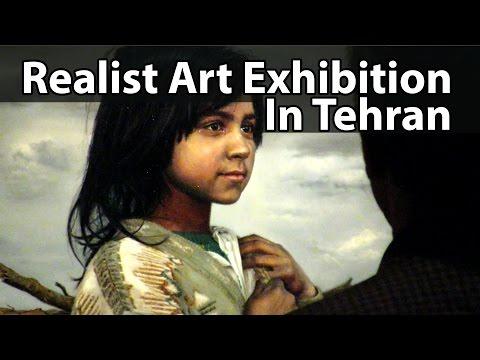 Realist Art Exhibition In Tehran