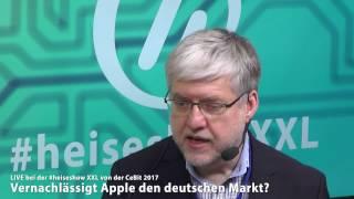 #heiseshowXXL:  Vernachlässigt Apple den deutschen Markt?