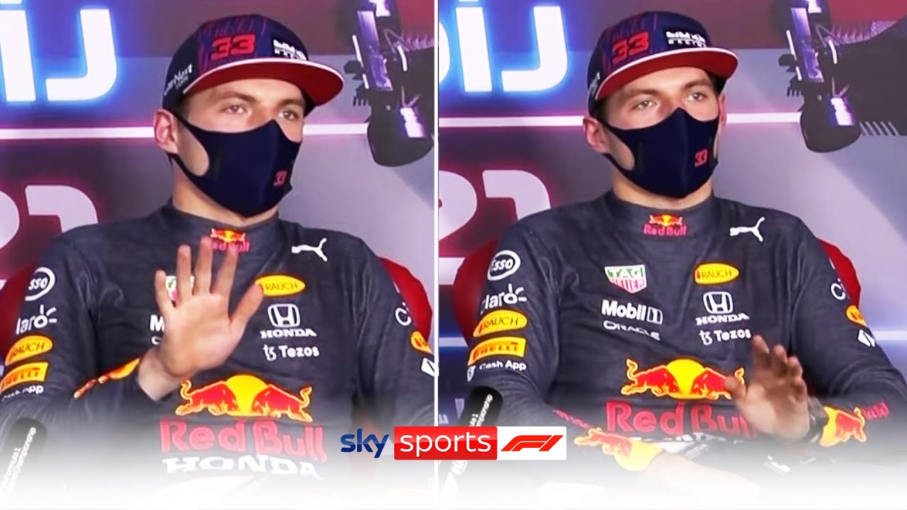 """""""Can we please stop? It's ridiculous!""""   Verstappen angry about continued questioning on collision"""