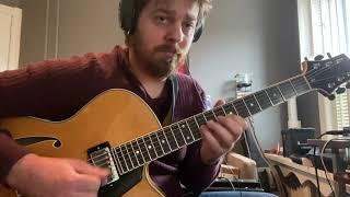 Dan Hanrahan, guitar - There is No Greater Love