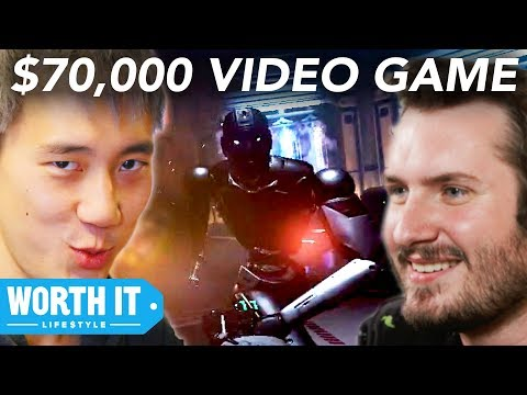 $5 Video Game Vs. $70,000 Video Game