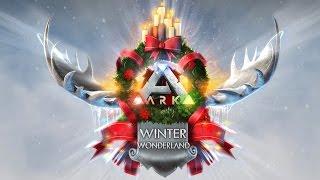 ark sruvival evolved winter wonderland trailer official
