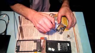 мобильный телефон ARK Benefit S504 ремонт