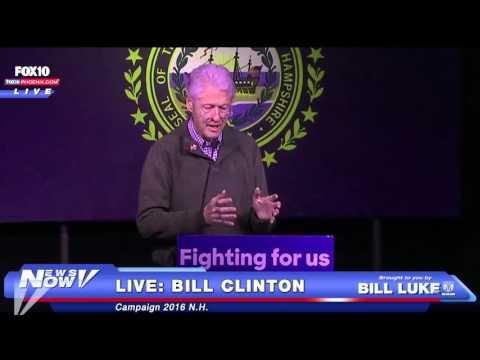 FNN: Bill Clinton Rally - New Hampshire