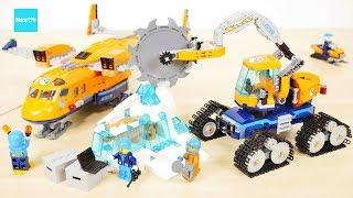 レゴ シティ 北極輸送機と作業車 60196 セット説明 6:17~ / LEGO City  Arctic Supply Plane 60196 Build & Review