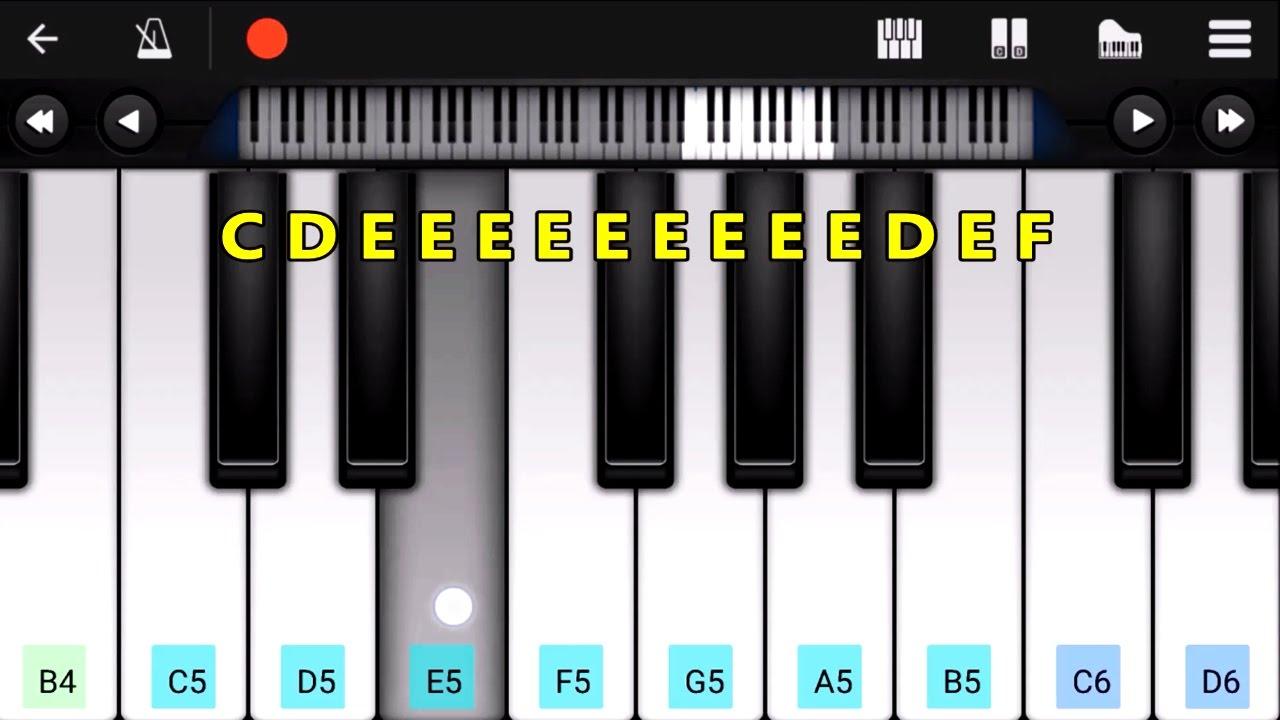 Jan Gan Man - Indian National Anthem   Perfect Piano ...