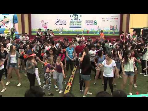 West Island School Flash Mob