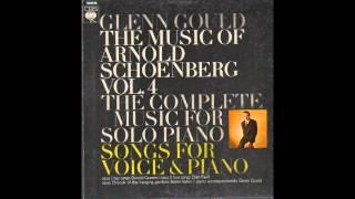 G. Gould & H. Vanni - Das Buch der hangenden Garten, Op. 15 (A. Schoenberg)