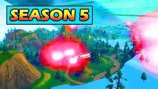 THE MAP IS CHANGING FOR SEASON 5 (LEAKED/GLITCHED) FORTNITE LEVIATHAN DESTROYING MAP!