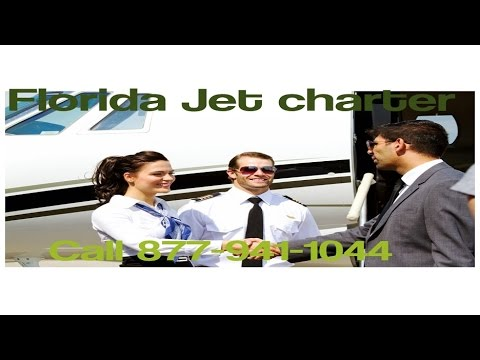 Private Jet Air Charter Flight Service From or To Orlando, Tampa, Miami, Jacksonville, Florida
