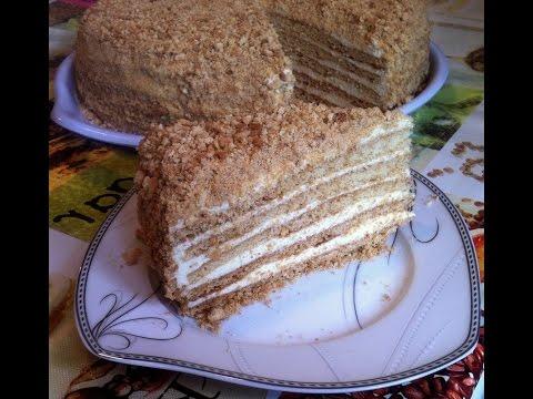 Медовик в мультиварке рецепт с фото Рецепт торта