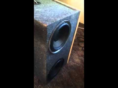 Crazy 8 inch subs