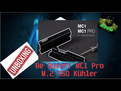 be quiet! MC1 Pro COOLER - M.2 SSD Kühler UNBOXING!