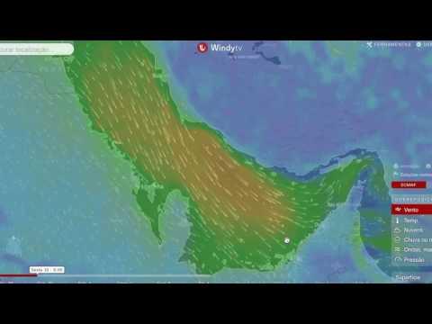 Dubai Wind Forecast 29 Sep 2016