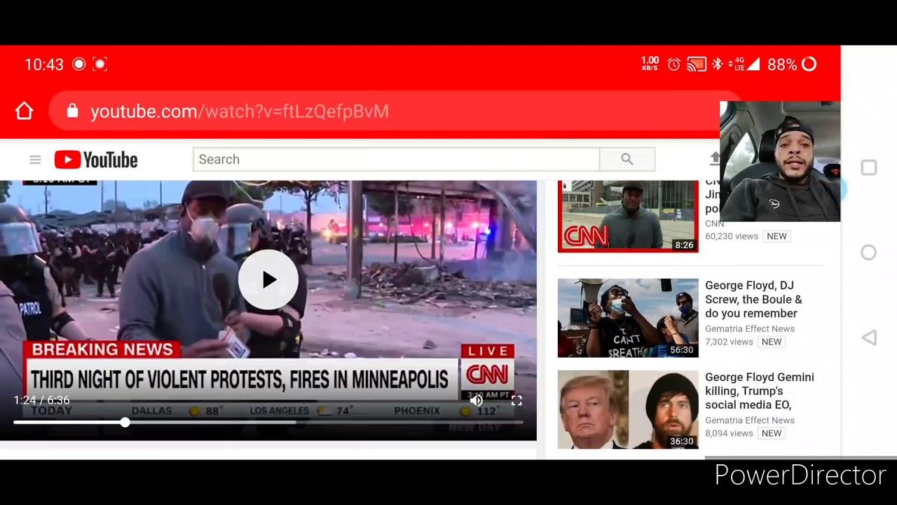 BREAKING NEWS!! CNN REPORTER ARRESTED ON LIVE TV! - YouTube