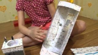 Душевая кабинка и другая мебель для кукол)))(, 2016-03-31T16:58:24.000Z)