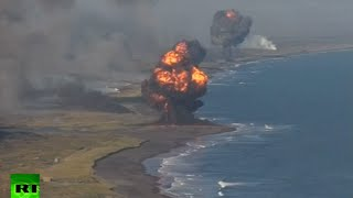 Massive military drill in Russian far east: Kamchatka coast rocked by defense barrage