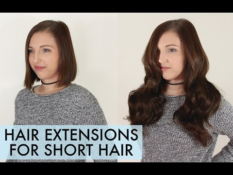 How to Apply Hair Extensions to Short Hair