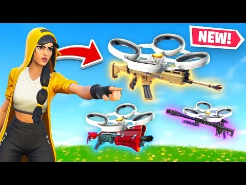*NEW* Loot Supply Drones in Fortnite!