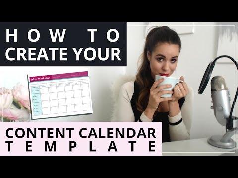 How To Create A Kick Butt Content Calendar