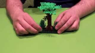 How to Build a LEGO Tree or Forest