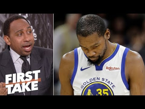 Why Kevin Durant deserves blame for Warriors' losing streak | First Take