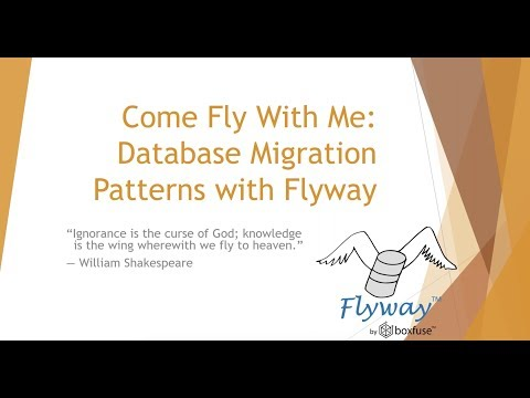 How to do Database Migration with Flyway?