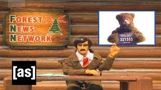 Poppa Bear Pooper Party | Robot Chicken | Adult Swim
