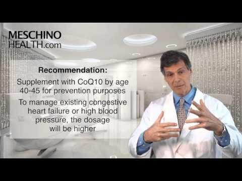 Optimal Living Program Chapter Five: CoQ10 and Congestive Heart Failure