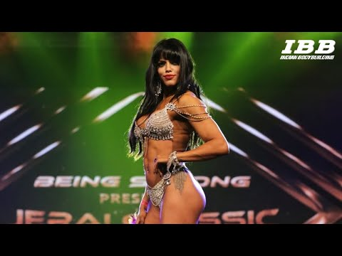 Bikini Diva Winner Sunaina Setia Posing Routine - Jerai Classic Grand 2018
