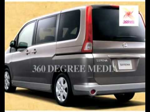 The new Nissan Serena, Nissan's latest launch in India- An outside view