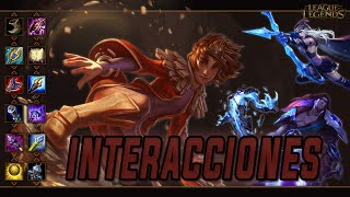Taliyah | Interacciones a campeones y objetos (Latino) [League of Legends]