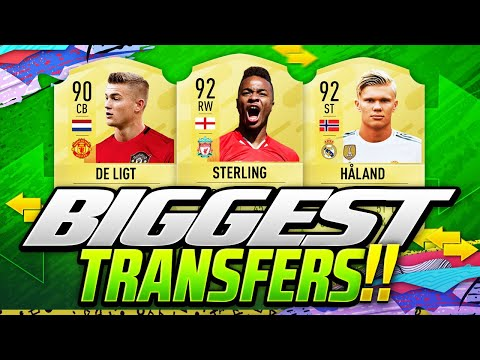 FIFA 21 NEW CONFIRMED 2020 TRANSFERS & SUMMER RUMOURS😱🔥| DE LIGT HALAND & STERLING BACK TO LIVERPOOL