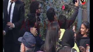 بالفيديو.. حسام غالي يدلي بصوته في انتخابات الأهلي