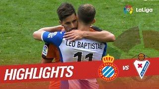 Resumen de RCD Espanyol vs SD Eibar 3-3