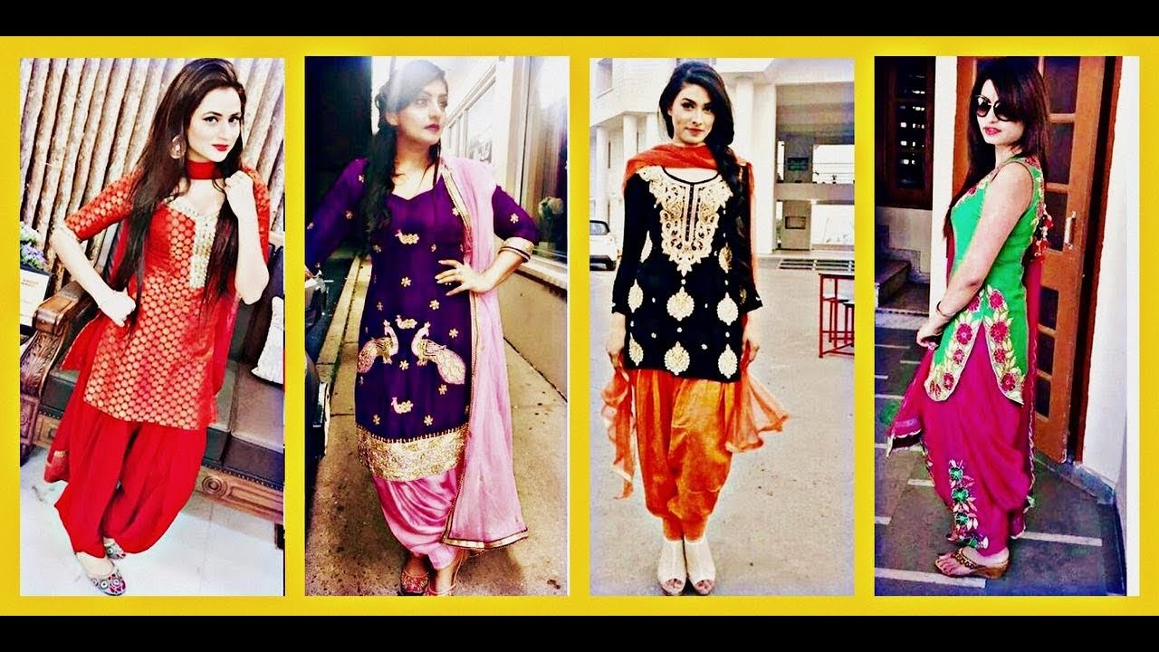 da01434f29 patiala salwar suit designs || punjabi salwar suit designs || latest stylish  punjabi suit party wear