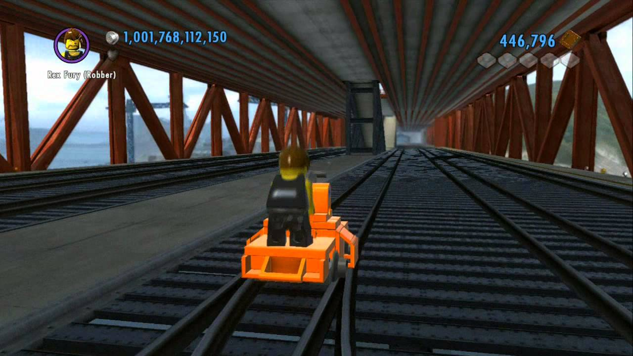 Walkthrough Secret Railroad Handcar Railroad Tour Of Lego City Lego City Undercover For Wii U