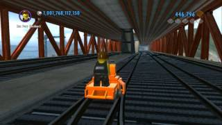 LEGO City Undercover (Wii U) - Secret Railroad Handcar (Railroad Tour of LEGO City)