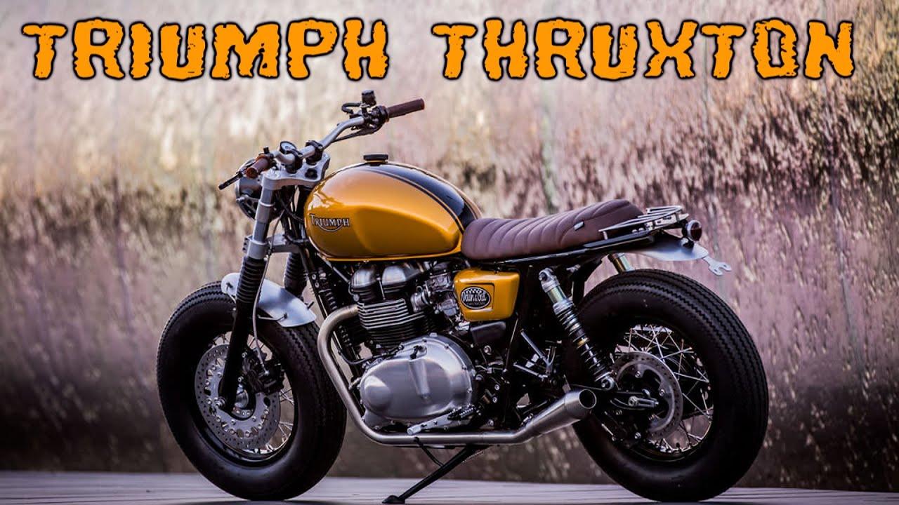 Permalink to Triumph Bonneville Cafe Racer