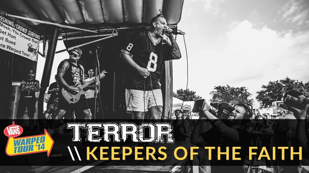 Terror keepers of the faith live 2014 vans warped tour youtube